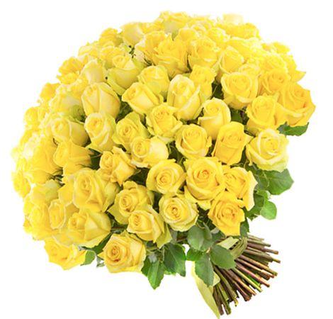 """Букет из роз """"Солнышко"""". Superflowers.com.ua"""