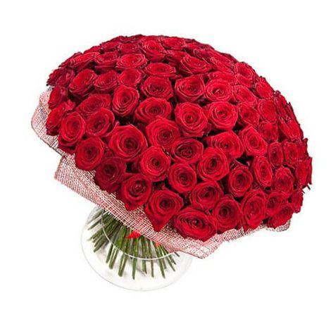 """Букет 101 роза """"Сила любви"""". Superflowers.com.ua"""
