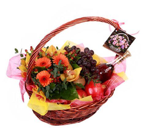 "Фруктовая корзина ""Лето"". Superflowers.com.ua"