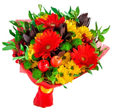 """Букет из гербер """"Тандем"""". Superflowers.com.ua"""