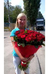 Доставка букета из роз в Киеве