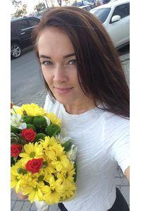 Сборный букет цветов с доставкой в Киев