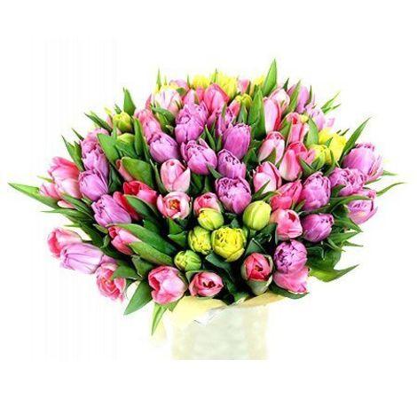 75 тюльпанов. Superflowers.com.ua