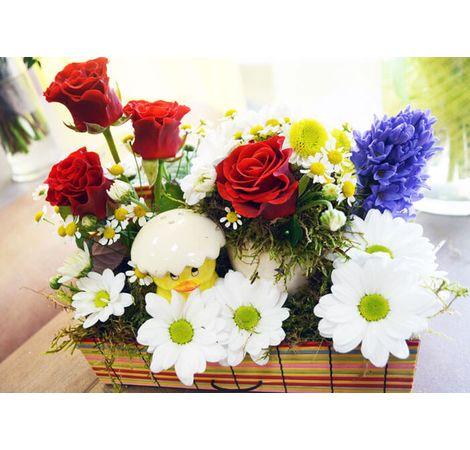 """Цветочная композиция """"Шепот весны"""". Superflowers.com.ua"""