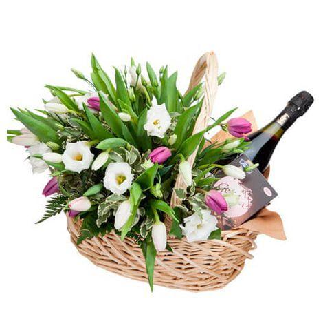 """Корзина цветов """"Весенняя фантазия"""". Superflowers.com.ua"""