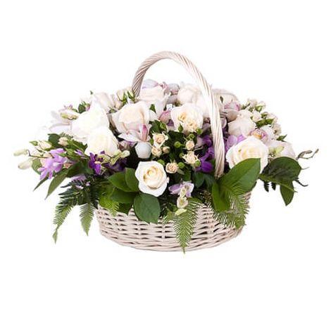 "Корзина цветов ""Волшебная сказка"". Superflowers.com.ua"