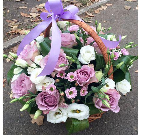 """Корзина с цветами """"Афродита"""". Superflowers.com.ua"""