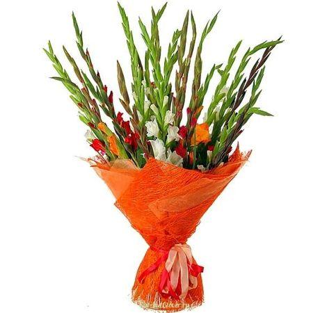 15 гладиолусов. Superflowers.com.ua