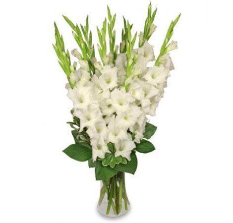 """Букет из гладиолусов """"Особенный"""". Superflowers.com.ua"""