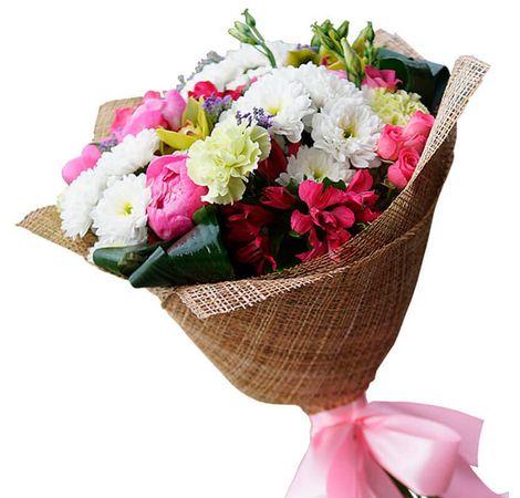 """Букет цветов микс """"Милашка"""". Superflowers.com.ua"""